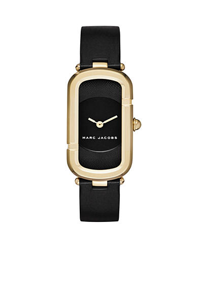 Marc Jacobs Women's Jacobs Black Leather Watch
