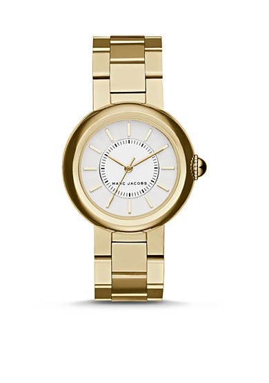 Marc Jacobs Women's Courtney Gold-Tone Three-Hand Watch