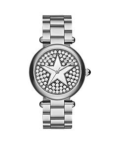 Marc Jacobs Women's Dotty with Star Silver Stainless Steel Bracelet Watch