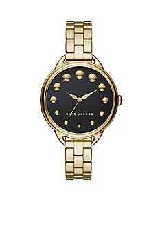 Marc Jacobs Women's Betty Gold-Tone Stainless Steel Bracelet Watch