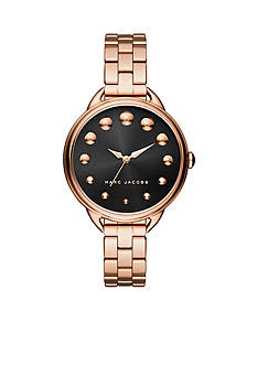 Marc Jacobs Women's Betty Rose Gold-Tone Three-Hand Watch