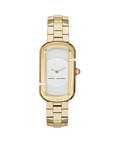 Marc Jacobs Women's Gold-Tone Jacobs Two Hand Watch