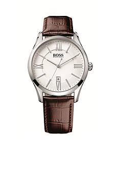 BOSS by Hugo Boss Men's Ambassador Stainless Steel Chronograph Watch