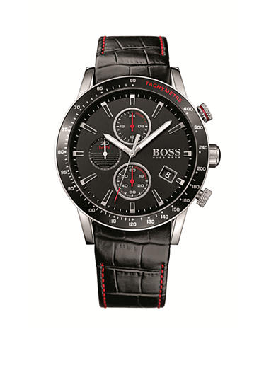 BOSS by Hugo Boss Men's Chronograph Leather Strap Watch