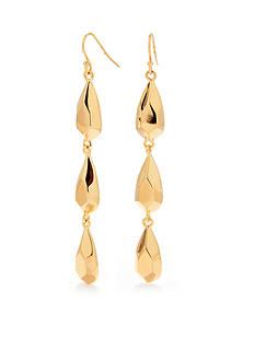 Trina Turk Teardrop Linear Earrings