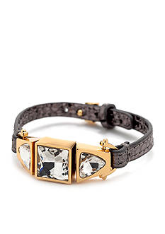 Trina Turk Stone Leather Watchband Bracelet