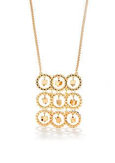 Trina Turk Vintage Ring Long Pendant Necklace