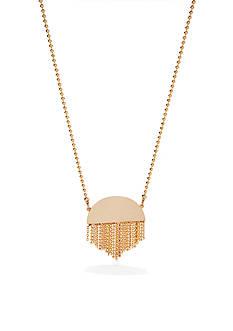 Trina Turk Fringe Pendant Necklace