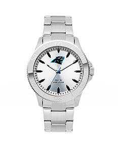 Jack  Mason Men's Carolina Panthers Silver Sport Watch