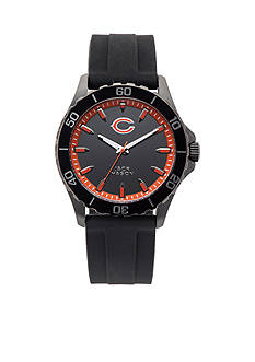 Jack  Mason Men's Chicago Bears Sport Silicone Strap Watch