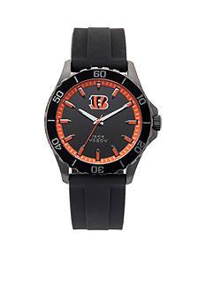 Jack  Mason Men's Cincinnati Bengals Sport Silicone Strap Watch