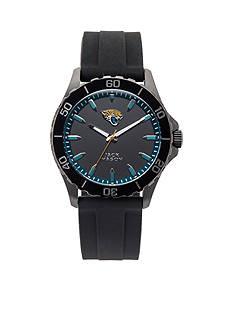 Jack  Mason Men's Jacksonville Jaguars Sport Silicone Strap Watch