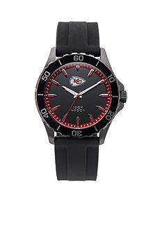 Jack  Mason Men's Kansas City Chiefs Sport Silicone Strap Watch