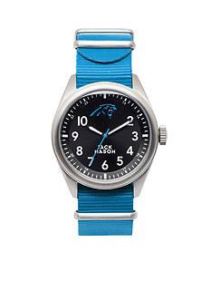 Jack Mason Men's Carolina Panthers Nato Strap Watch