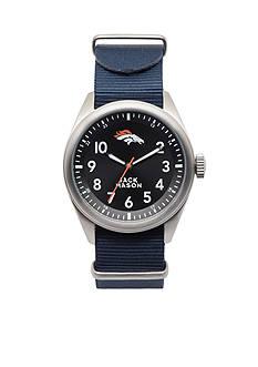 Jack Mason Men's Denver Broncos Nato Strap Watch