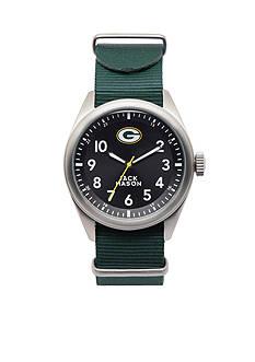 Jack Mason Men's Green Bay Packers Nato Strap Watch