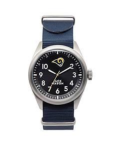Jack Mason Men's Los Angeles Rams Nato Strap Watch