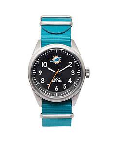Jack Mason Men's Miami Dolphins Nato Strap Watch