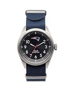 Jack Mason Men's New England Patriots Nato Strap Watch