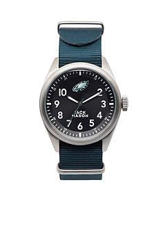 Jack Mason Men's Philadelphia Eagles Nato Strap Watch