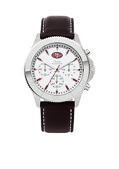 Jack  Mason Men's San Franciso 49ers Nato Strap Watch