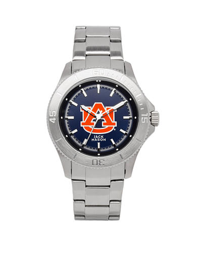 Jack Mason Men's Auburn Sport Bracelet Team Color Dial Watch