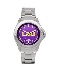 Jack Mason Men's LSU Sport Bracelet Team Color Dial Watch
