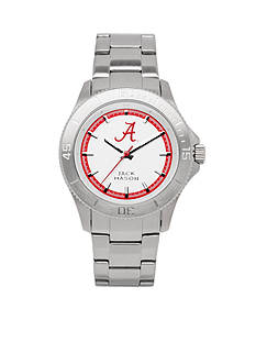 Jack Mason Men's Alabama Sport Bracelet Silver Dial Watch