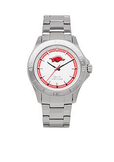 Jack Mason Men's Arkansas Sport Bracelet Silver Dial Watch