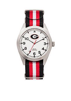 Jack Mason Georgia Nato Striped Strap Watch