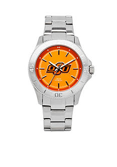 Jack Mason Women's Oklahoma State Sport Bracelet Team Color Dial Watch