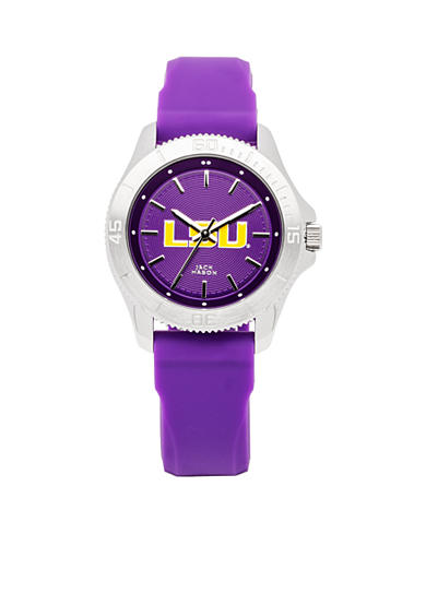 Women's LSU Sport Silicone Strap Watch