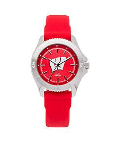 Jack Mason Women's Wisconsin Sport Silicone Strap Watch