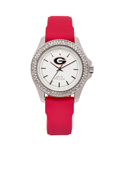 Women's Georgia Glitz Silicone Strap Watch