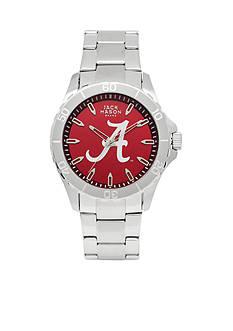Jack Mason Men's Alabama Sport Bracelet Team Color Dial Watch