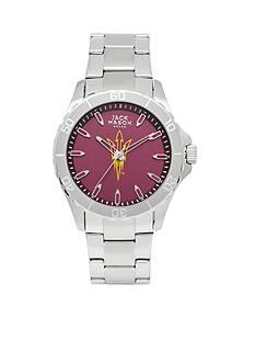 Jack Mason Men's Arizona State Sport Bracelet Team Color Dial Watch