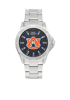 Jack Mason Men's Auburn Sport Bracelet Team Color Dial Watch