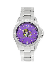 Jack Mason Men's East Carolina Sport Bracelet Team Color Dial Watch