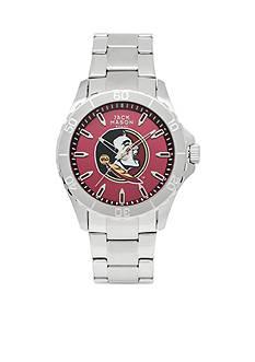 Jack Mason Men's Florida State Sport Bracelet Team Color Dial Watch