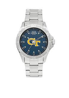 Jack Mason Men's Georgia Tech Sport Bracelet Team Color Dial Watch