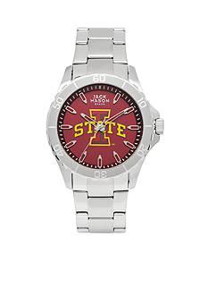 Jack Mason Men's Iowa State Sport Bracelet Team Color Dial Watch