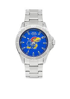 Jack Mason Men's Kansas Sport Bracelet Team Color Dial Watch