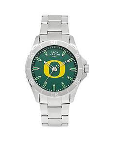 Jack Mason Men's Oregon Sport Bracelet Team Color Dial Watch