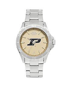 Jack Mason Men's Purdue Sport Bracelet Team Color Dial Watch