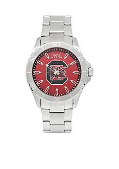 Jack Mason Men's South Carolina Sport Bracelet Team Color Dial Watch