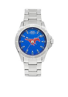 Jack Mason Men's SMU Sport Bracelet Team Color Dial Watch