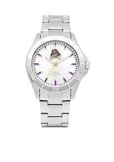 Jack Mason Men's East Carolina Sport Bracelet Silver Dial Watch