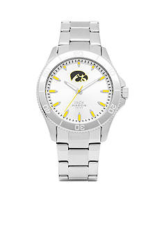 Jack Mason Men's Iowa Sport Bracelet Silver Dial Watch