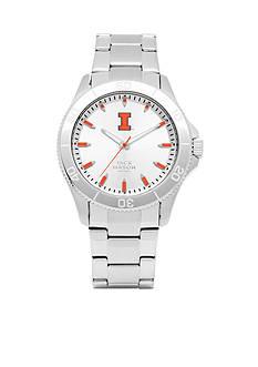 Jack Mason Men's Illinois Sport Bracelet Silver Dial Watch