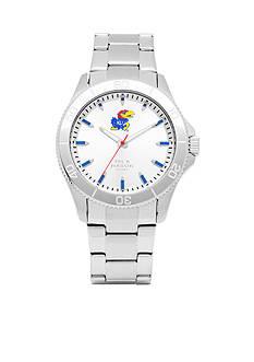 Jack Mason Men's Kansas Sport Bracelet Silver Dial Watch